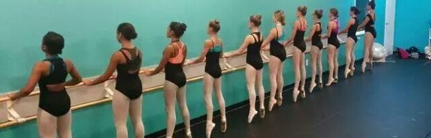 Prepping for Pointe