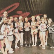 Happy and Accomplished teens and seniors after an amazing competition at Showbiz